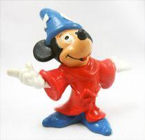 Mickey et ses amis - Figurine PVC Bully 1985 - Mickey Magicien (Fantasia)