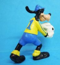 Mickey et ses amis - Figurine PVC Bully 1998 Winnig Team - Dingo