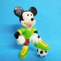 Mickey et ses amis - Figurine PVC Bully 1998 Winnig Team - Mickey
