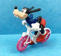 Mickey et ses amis - Figurine PVC Bullyland 1998 - Dingo Coureur Cycliste