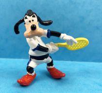 Mickey et ses amis - Figurine PVC Bullyland 1998 - Dingo Tennisman