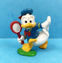 Mickey et ses amis - Figurine PVC Disney - Donald Joueur de Tennis