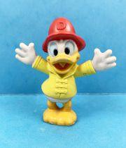 Mickey et ses amis - Figurine PVC Disney - Donald Pompier