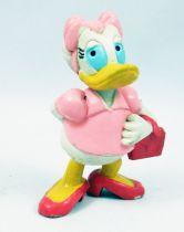 Mickey et ses amis - Figurine PVC M+B Maia Borges 1982 - Daisy