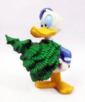 Mickey et ses amis - Figurine PVC M+B Maia Borges 1982 - Donald à Noël