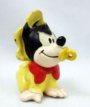 Mickey et ses amis - Figurine PVC M+B Maia Borges 1985 - Disney Babies Bébé Pat Hibulaire