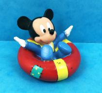 Mickey et ses amis - Figurine Vinyl Disney - Bébé Mickey sur bouée