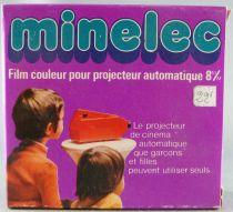 Mickey et ses amis - Film couleur Super 8 - Minelec (Meccano France) - Goofy défend son Hamac (réf.43210)