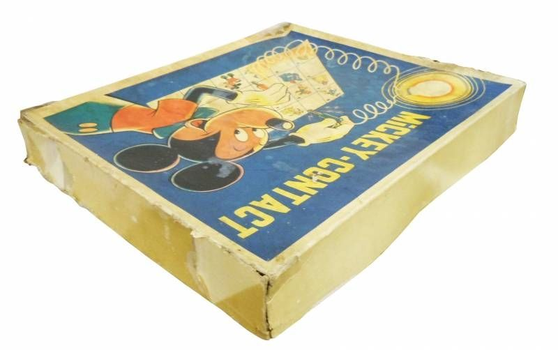 Mickey et ses amis - Jeu vintage - Mickey-Contact