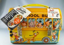 Mickey et ses amis - Lunch Box Alladin - School Bus
