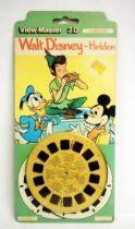 Mickey et ses amis - Pochette de 3 View-Master 3-D - Les Héros de Walt Disney (Helden)