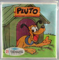 Mickey et ses amis - Pochette de 3 View Master 3-D - Pluto 2