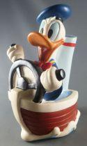 Mickey et ses amis - Tirelire Vinyl Just Toys - Donald en Bateau