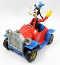 Mickey et ses amis - Véhicule Die-cast Polistil - L\'auto de Dingo (loose)