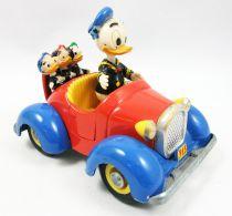Mickey et ses amis - Véhicule Die-cast Polistil - La voiture de Donald et ses neveux (loose)
