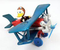 Mickey et ses amis - Véhicule Die-cast Polistil- Avion de Donald Duck (loose)