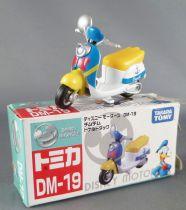 Mickey et ses amis - Véhicule Die-cast Takara Tomy DM-19 - Le Scooter de Donald Disney Motors