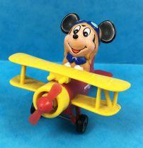 Mickey et ses amis - Véhicule Diecast & Plastique Tomy - Mickey Aviateur