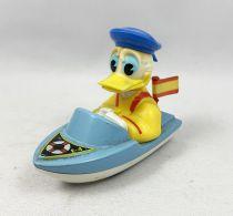 Mickey et ses amis - Véhicule en Métal Injecté Guisval - Donald en Bateau (occasion)