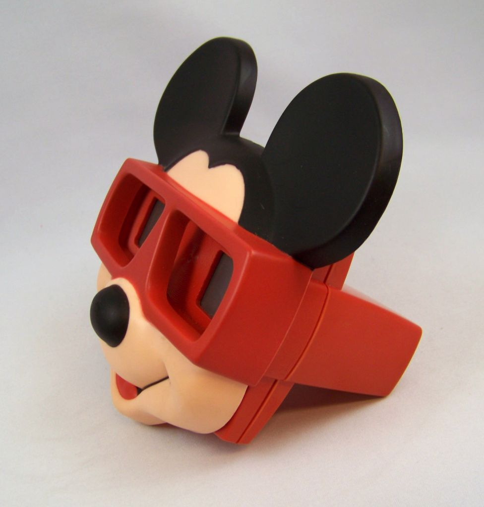 Mickey Mouse - Visioneuse View Master 3-D (1989) + 1 Disque 02