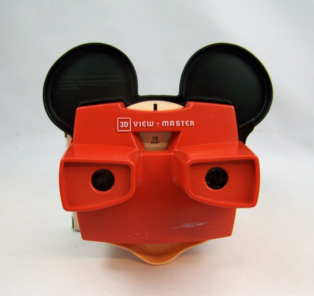 Mickey Mouse - Visioneuse View Master 3-D (1989) + 1 Disque 03