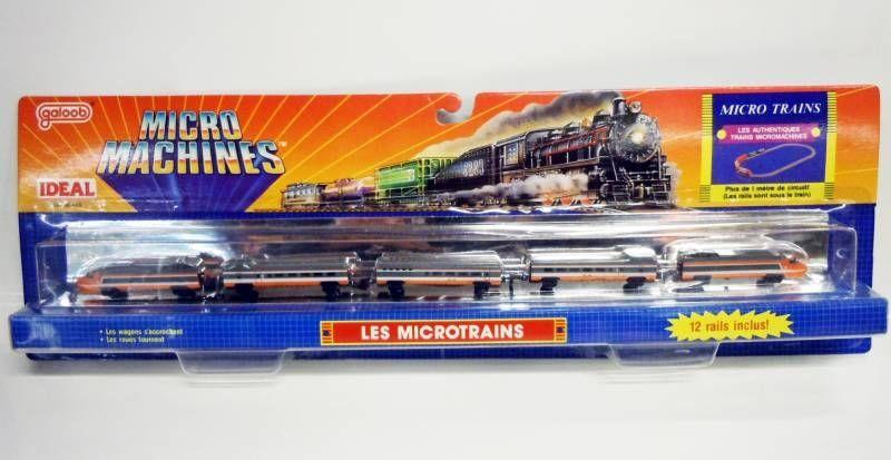 Micro Machines - Galoob - 1989 Les Microtrains (TGV)