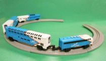 Micro Machines - Galoob - 1989 Train Set (American Passenger)