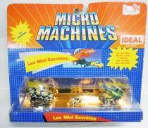 Micro Machines - Galoob - 1990 Set #5 Les Mini Secrétes (Sherman & Blazer)