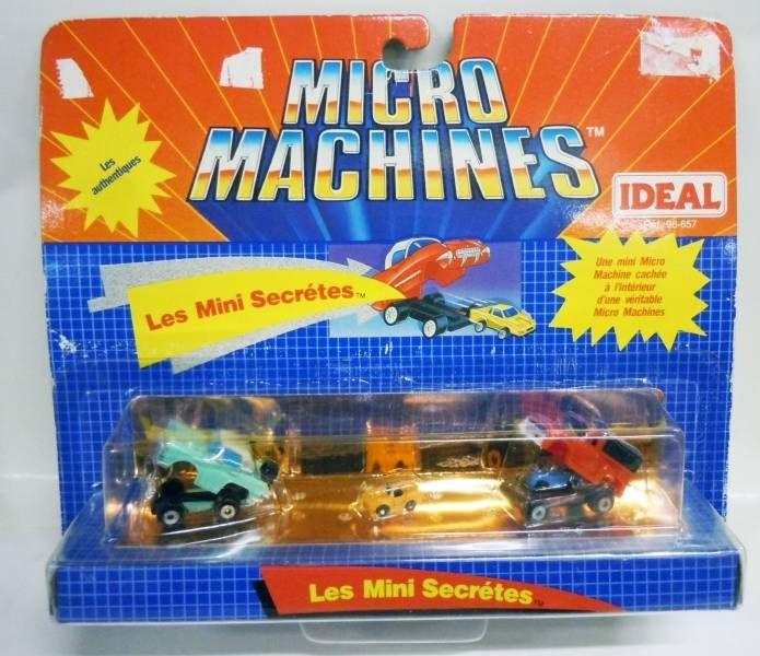 Micro Machines - Galoob - 1990 Set #6 Les Mini Secrétes (\'56 Pickup & \'55 T-Bird)