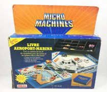 Micro-Machines - Galoob Ideal - 1987 Airport-Marina (Ref. 96-602) loose in box