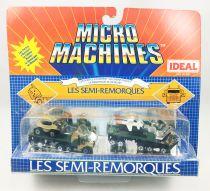 Micro-Machines - Galoob Ideal - 1988 Les Semi-Remorques (Ref. 96-631) Set #2