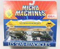 Micro-Machines - Galoob Ideal - 1988 Les Semi-Remorques (Ref. 96-631) Set #8