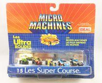 Micro-Machines - Galoob Ideal - 1988 Les Ultra Bolides (Ref. 96-605) Set #15 Les Super Course