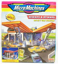 MicroMachines - Galoob Ideal - 1990 Hiways & Biways (On-m-t Gas Station) Ref.96-707