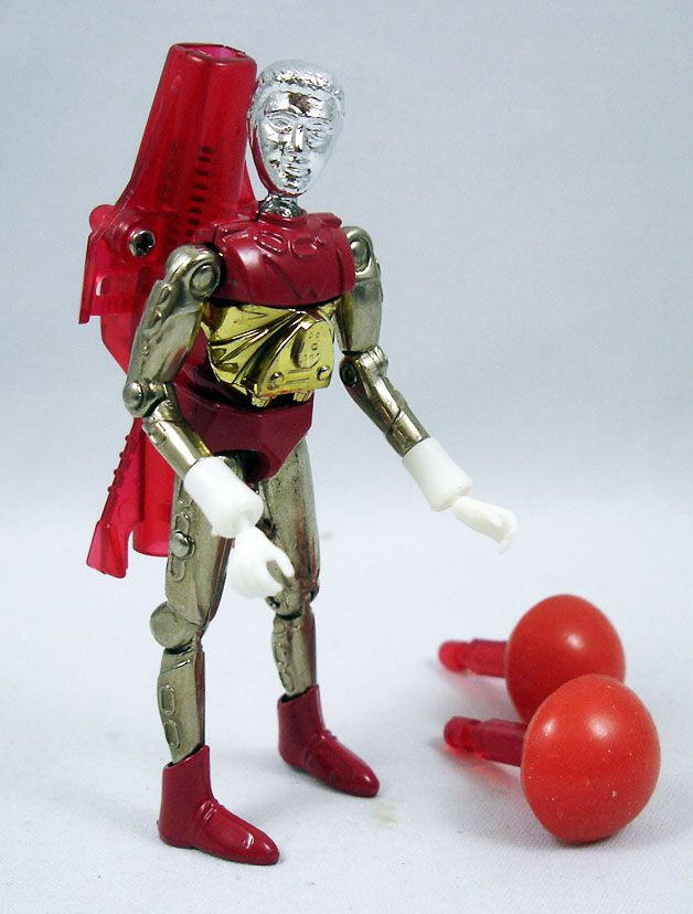 Micronauts - Galactic Warrior Red (loose)