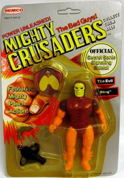 Mighty Crusaders - The Evil Sting - Remco