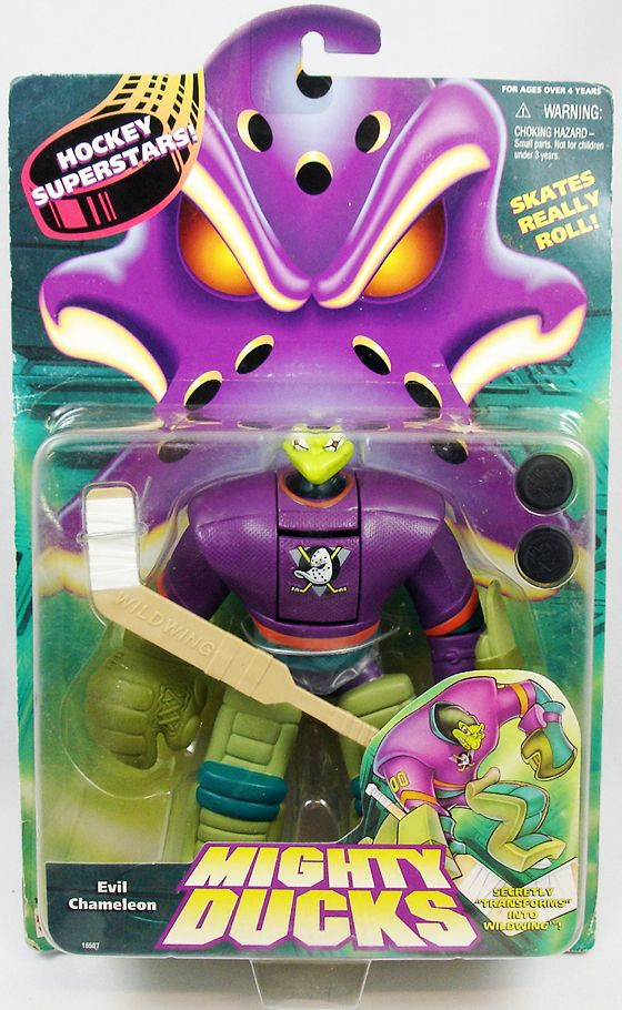 Mighty Ducks - Hockey Superstars - Evil Chameleon