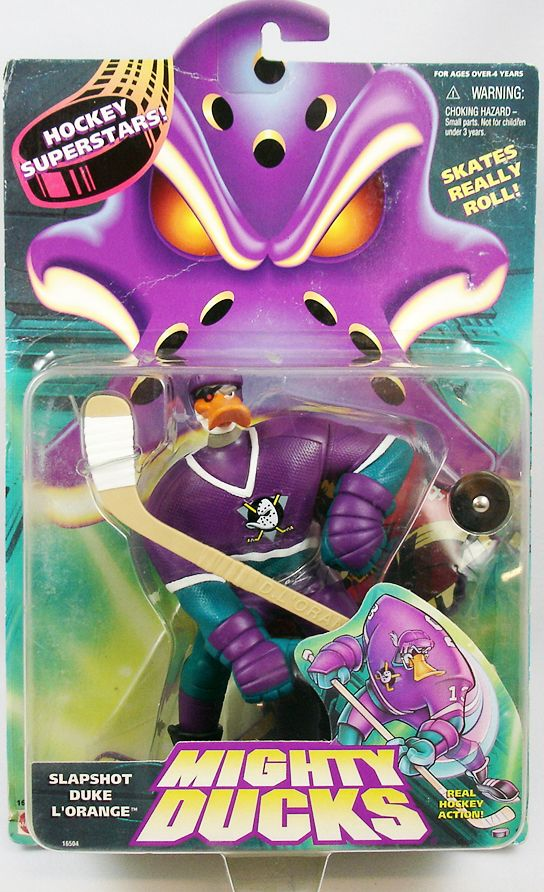 Mighty Ducks - Hockey Superstars - Slapshot Duke L\'Orange