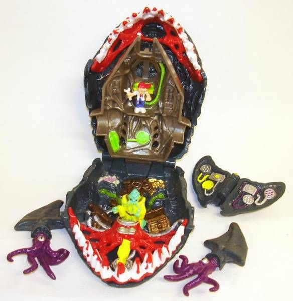 Mighty Max - Doom Zones - The Man Eater (loose)