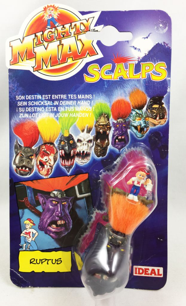 Mighty Max - Scalps - Ruptus