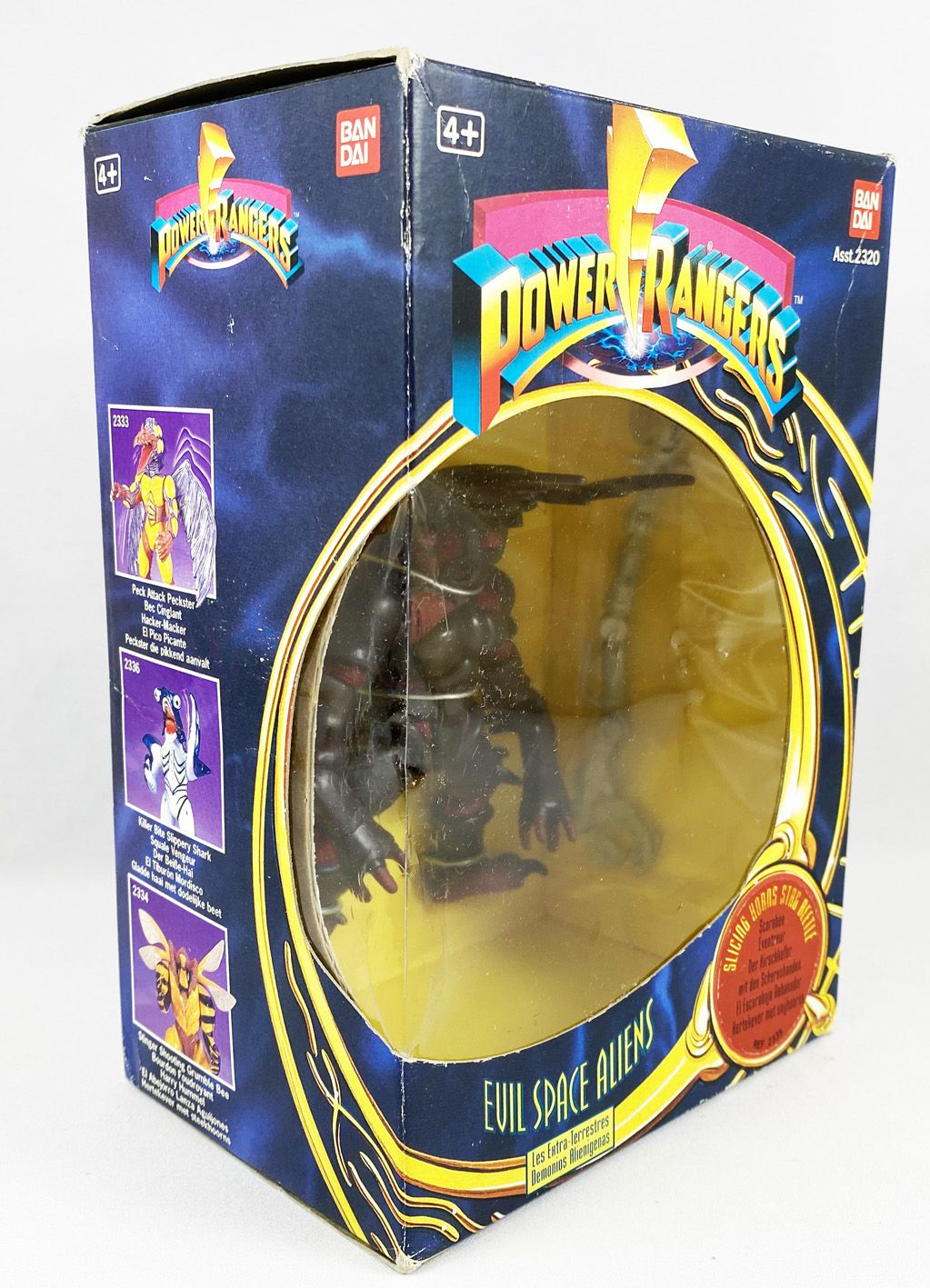 Mighty Morphin Power Rangers - Bandai - Evil Space Aliens : Scarabée Eventreur (Slicing Horns Stag Beetle)