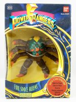 Mighty Morphin Power Rangers - Bandai - Evil Space Aliens : Snatch Attack Spidertron