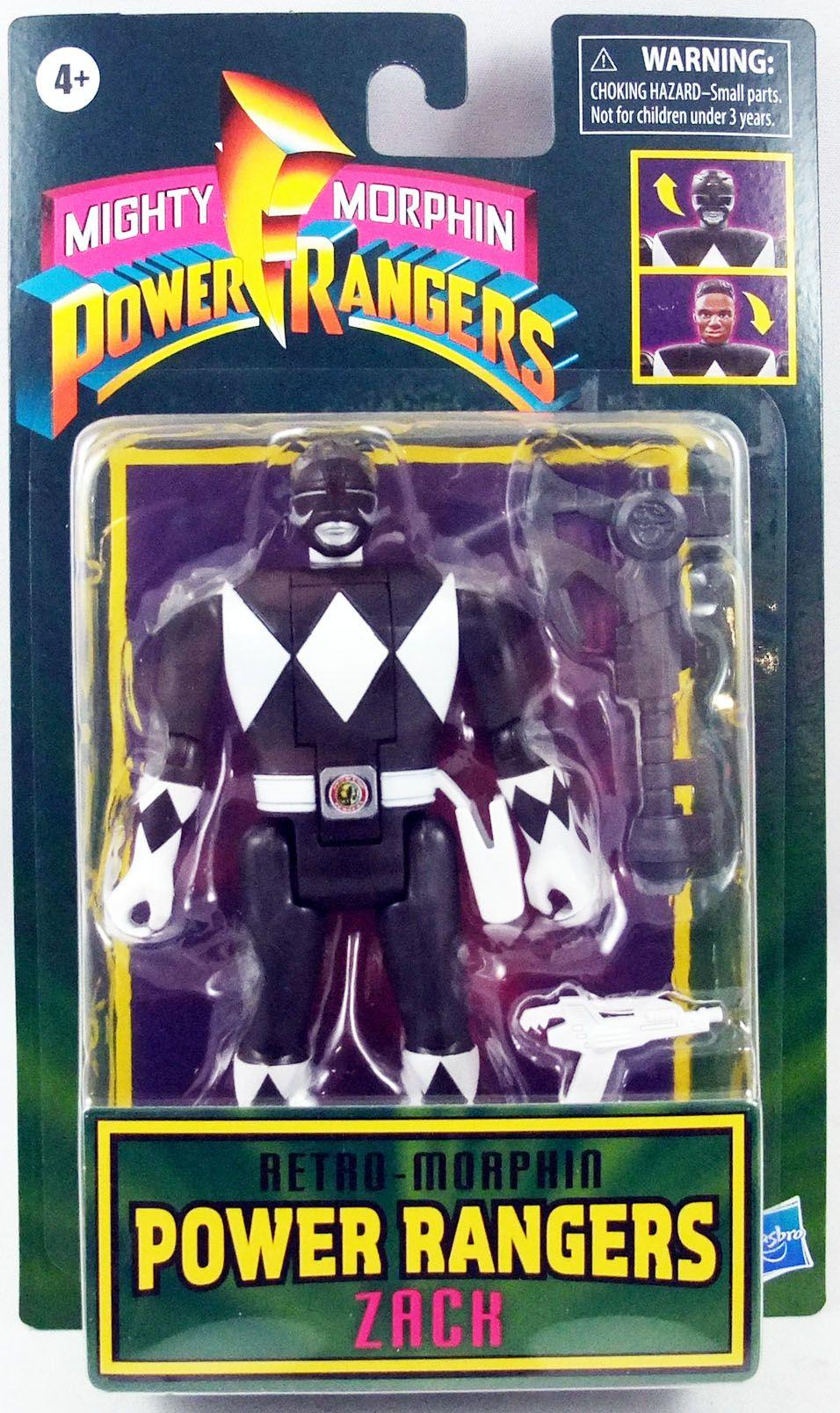 Mighty Morphin Power Rangers - Retro-Morphin Ranger Noir Zack