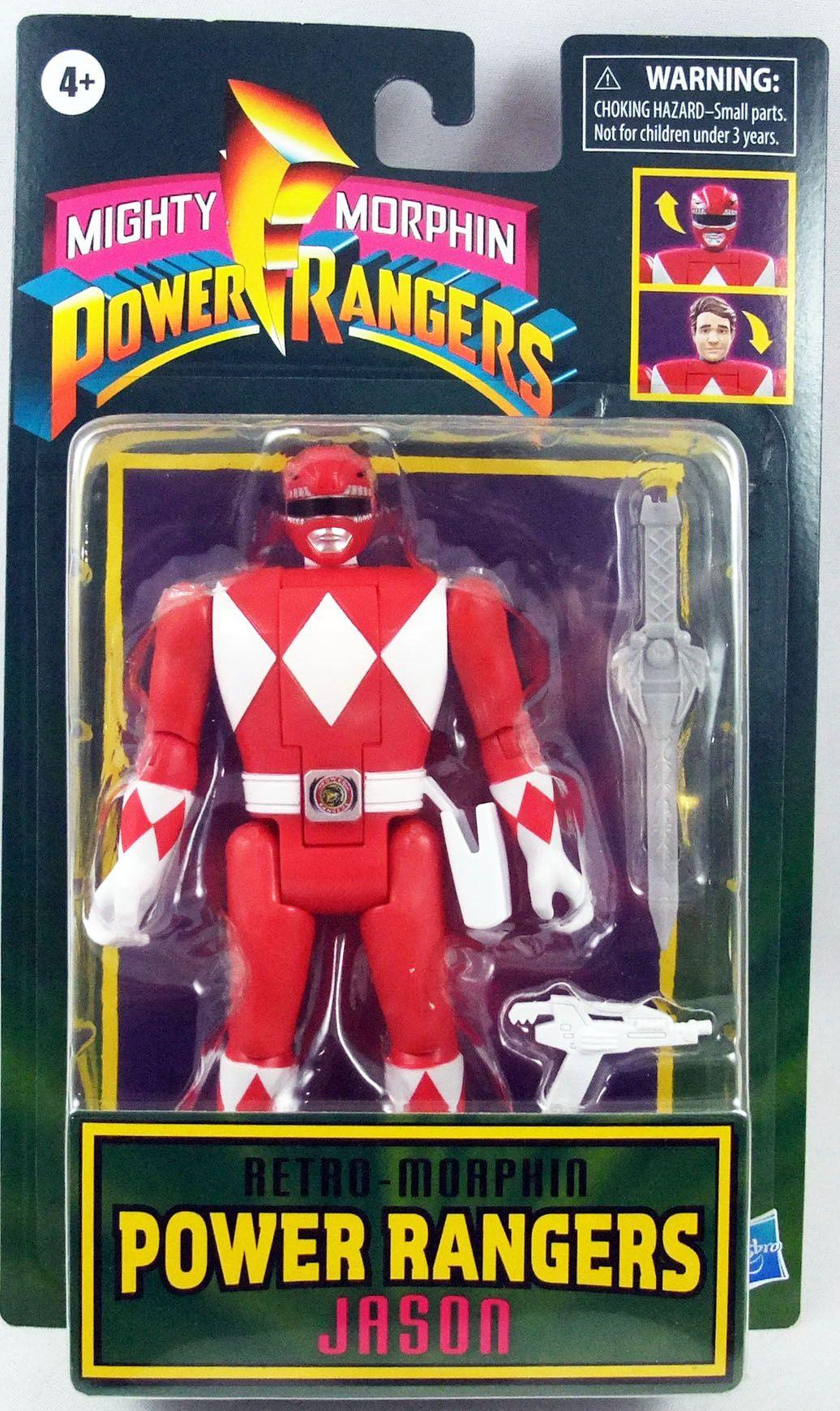 Mighty Morphin Power Rangers - Retro-Morphin Ranger Rouge Jason