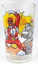 "Mighty Morphin Power Rangers - Verre à moutarde Amora \""Red Ranger Jason\"""