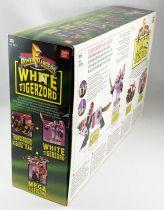 Mighty Morphin Power Rangers - White Tigerzord & White Ranger (loose avec boite)