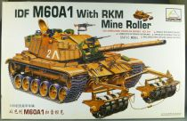 Mini Hobby Models Kit - TN 80106 Char Israelien IDF M60A1 with RKM Mine Roller Neuf Boite 1/35