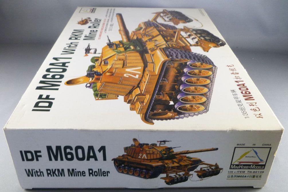 Mini Hobby Models Kit - TN 80106 Israelian Tank IDF M60A1 with RKM Mine Roller 1:35