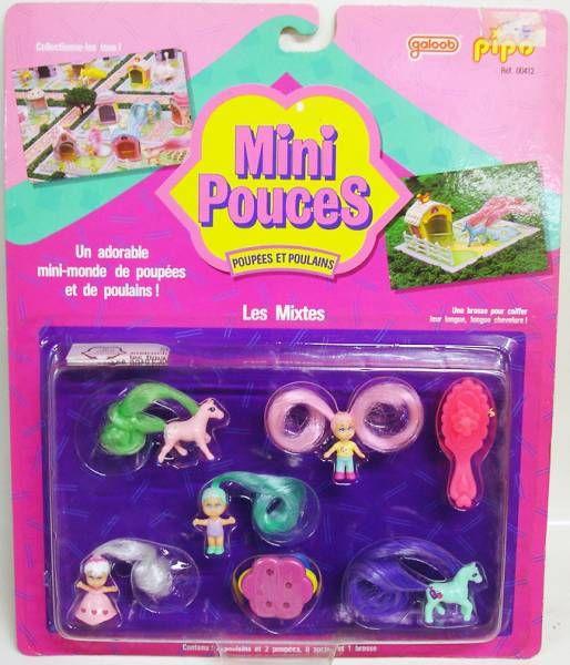 Mini Pouces - Poupées et Poulains : Les Mixtes