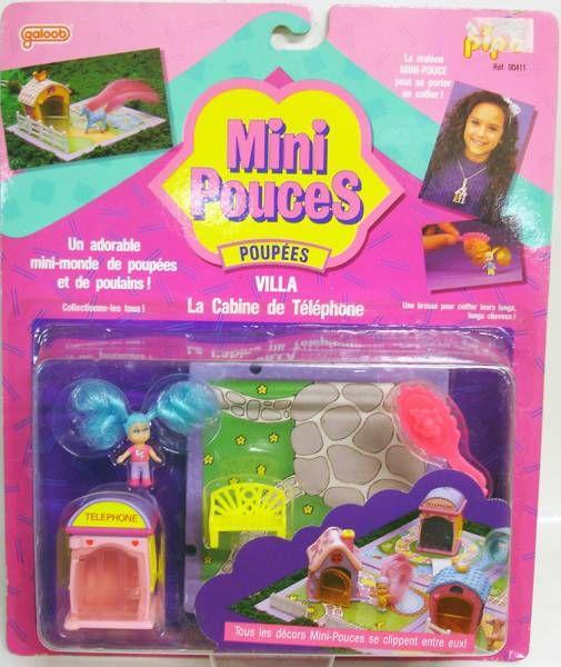 Mini Pouces - Poupées Villa : La Cabine de Téléphone